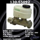 New Centric Brake Master Cylinder Ford 130.65092