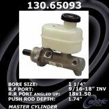 New Centric Brake Master Cylinder Ford 130.65093