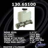 New Centric Brake Master Cylinder Ford 130.65100