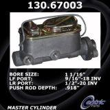 New Centric Brake Master Cylinder Jeep 130.67003