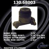 Centric Brake Master Cylinder Lincoln Ford 130.68003