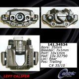 Rear Right Unloaded Rebuilt Brake Caliper 141.34533