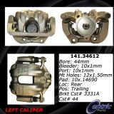 Rear Left Unloaded Rebuilt Brake Caliper 141.34612