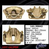 Front Right Unloaded Rebuilt Brake Caliper Mercedes 141.35041