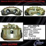 Rear Right Unloaded Rebuilt Brake Caliper Dodge 141.35570