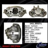 Rear Right Unloaded Rebuilt Brake Caliper Dodge 141.35571