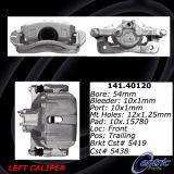 Front Right Unloaded Rebuilt Brake Caliper 141.40119
