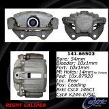 Rear Right Unloaded Rebuilt Brake Caliper 141.66503